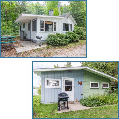 Cottage #5 and Cottage #6
